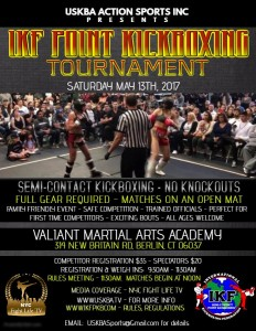 IKF Point Muay Thai Sparring Tournament, Berlin,Connecticut TBC @ Valiant Martial Arts | Berlin | Connecticut | United States