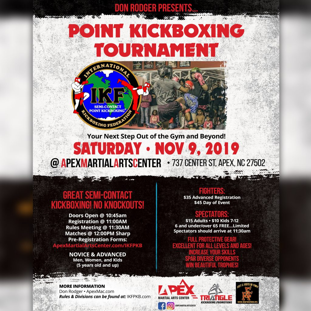 Apex Martial Arts Center Kickboxing