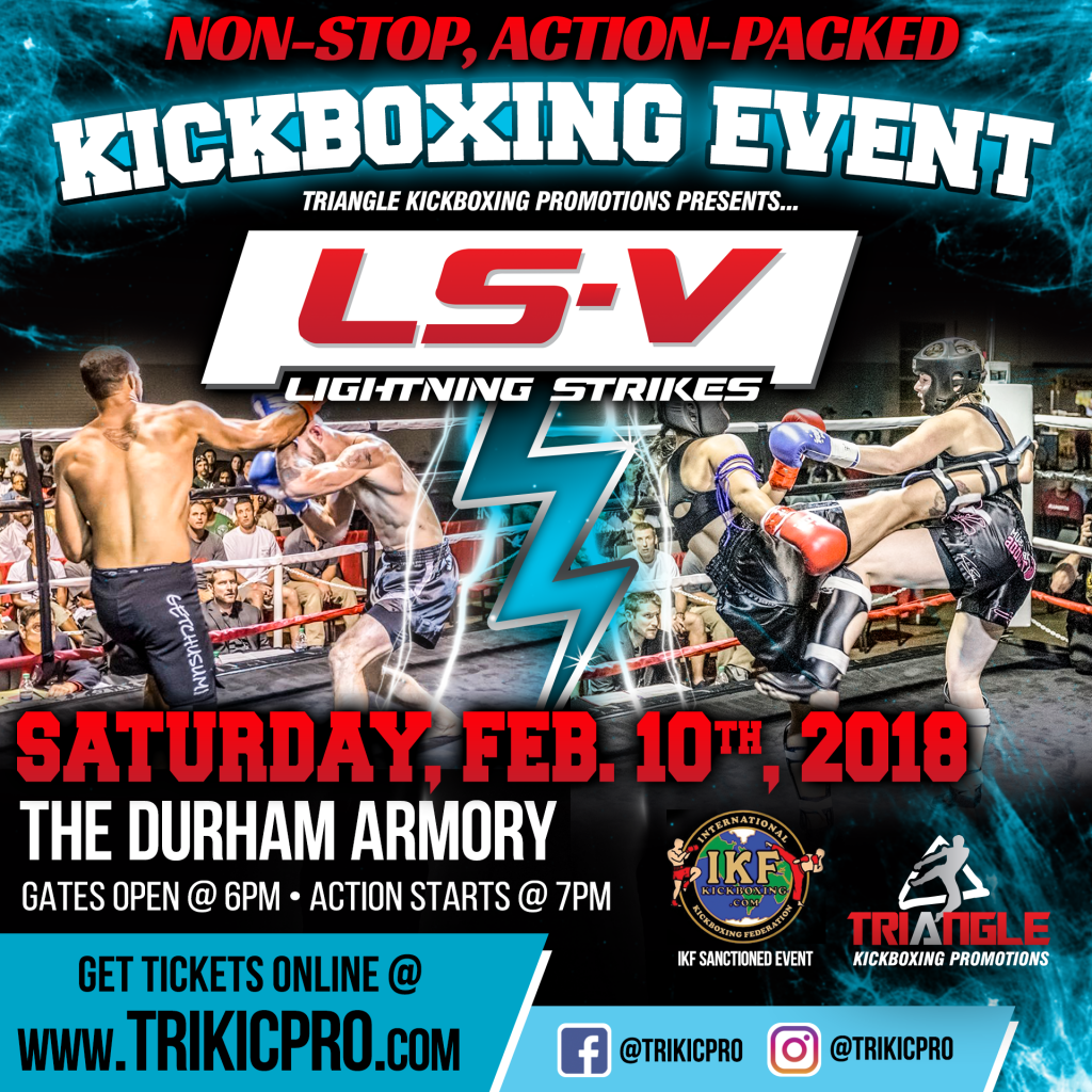 IKF Full Contact Kickboxing, Durham, NC @ Durham Armory in Durham, NC | Durham | North Carolina | United States