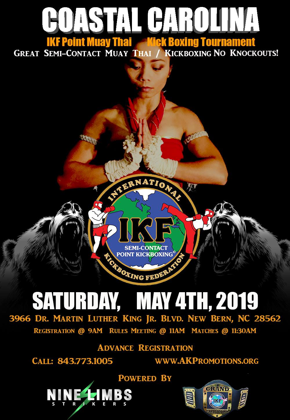 kru pol may 4th flyer   her version good 2019 - Ak Promotions