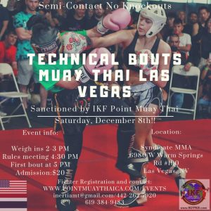 IKF Muay Thai Sparring Tournament , LAS VEGAS, NEVADA @ Las Vegas | Nevada | United States