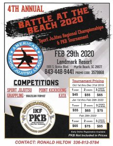 IKF Point Muay Thai / Sparring Tournament & Sports Jujitsu Tournament Myrtle Beach, SC @ Landmark Hotel and Resort | Santa Monica | California | United States