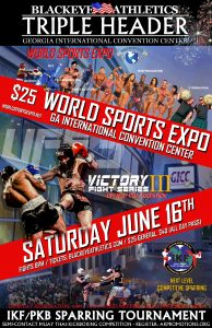 IKF - Full Contact Muay Thai / Kickboxing-Smyrna & Atlanta @World Sports Expo 7:PM @ Georgia International Convention Center | Atlanta | Georgia | United States