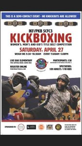 IKF Point  Muay Thai Sparring Tournament, Santa Cruz, CA @ TBA | Santa Cruz | California | United States