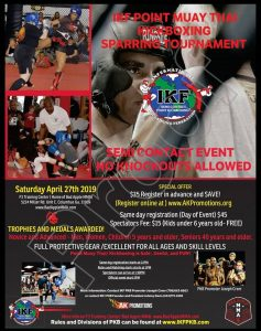 IKF Point Muay Thai / Kickboxing Sparring Tournament- Columbus, GA- Bad Apple MMA @ Bad Apple MMA | Columbus | Georgia | United States