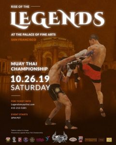 San Francisco, CA - IKF Muay Thai Double Header - Semi and Full Contact Action @ Palace of Fine Arts | San Francisco | California | United States